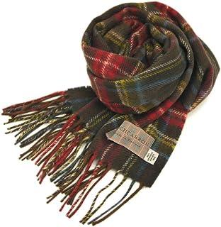 [ロキャロン] Lochcarron of scotland英国スコットランド製 マフラー ラムズウール100% タータン チェック
