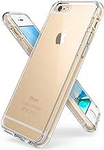iPhone 6S Plus / 6 Plus Funda - Ringke FUSION *** Nueva Tecnologa de Absorcin de golpes. Cristal Claro Absorcin TPU Parachoques, proteccin gota prima. Parte Trasera Dura [Resistente a Araazos, con Tecnologa de activacin al toque
