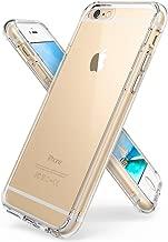 iPhone 6S Plus / 6 Plus Funda - Ringke FUSION *** Nueva Tecnología de Absorción de golpes. Cristal Claro Absorción TPU Parachoques, protección gota prima. Parte Trasera Dura [Resistente a Arañazos, con Tecnología de activación al toque