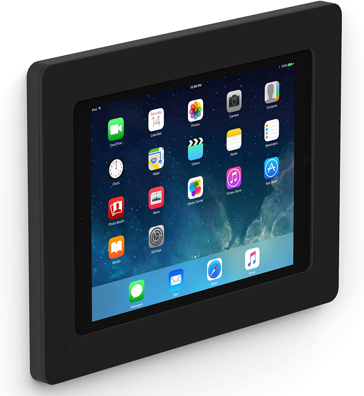 VidaMount Black On-Wall Tablet Mount Compatible with iPad 9.7 (5