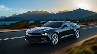 Chevrolet Camaro SS Car Poster Print #2 (24x36 Inches)