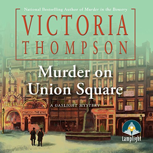 Murder on Union Square cover art