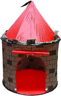 comprar comparacion deAO Tienda Pop-Up Con Diseño De Castillo Rojo – Diseño Plegable Autoarmable – Actividad Infantil