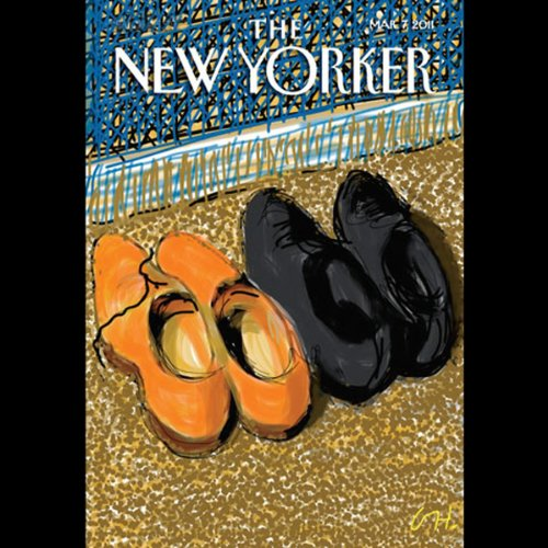 The New Yorker, March 7th 2011 (Ken Auletta, Kelefa Sanneh, James Surowiecki) cover art