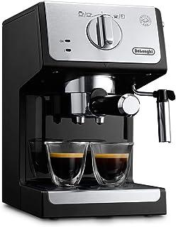DeLonghi Autentica ECP33.21.BK, Espresso machine, 1.1 L, Ground coffee, 1100 W, Black.- International version