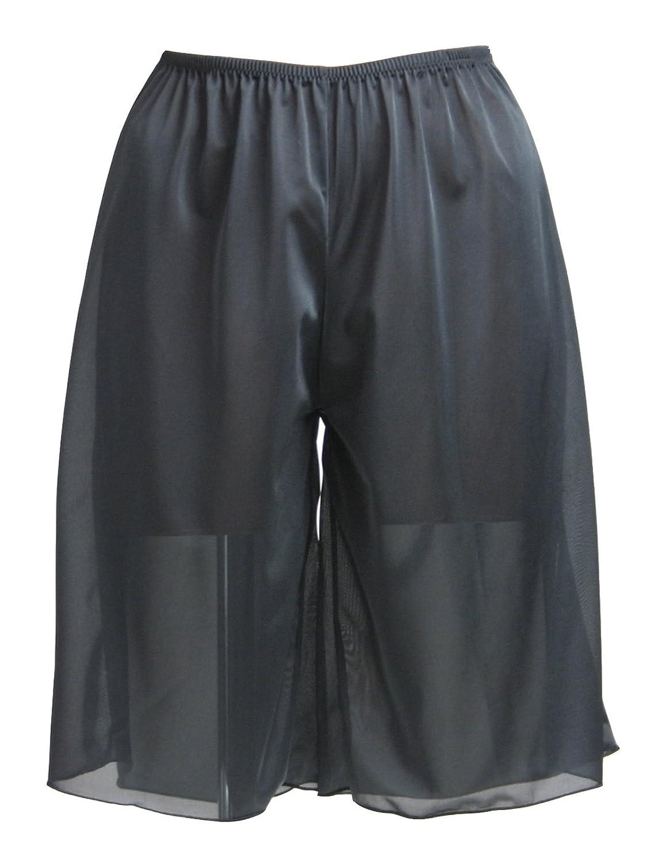 (ペチコート屋)超シンプル タップパンツ ブラック M、L 丈30cm~55cm