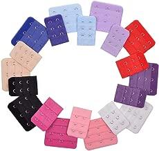KLOUD City Assorted Colors 2 Hooks 3 Hooks Women Bra Extender Strap (Pack of 20)