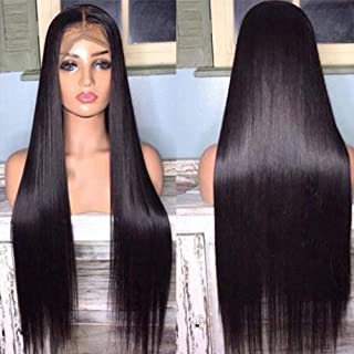 Hermosa Lace Front Human Hair Wigs Pre Plucked with Baby Hair 220% Density 9A Brazilian..