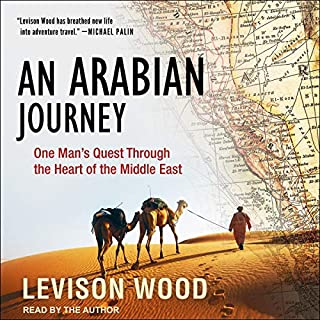 An Arabian Journey audiobook cover art