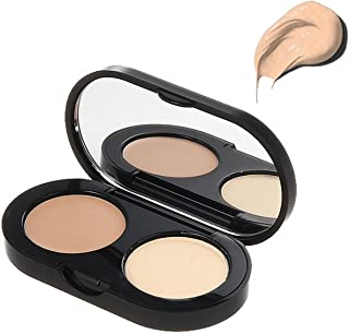 Bobbi Brown New Creamy Concealer Kit, Sand + Pale Yellow Sheer Finished Pressed Powder, 0.11 Ounce