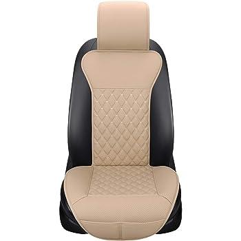 Honcenmax Auto Sitzauflage Sitzbezüge Sitzkissen Autoabdeckung Auto Sitzauflagen Universal Anti Rutsch Sitzauflagen Auto Fahrersitz Mit Rückenlehne 1pc Auto
