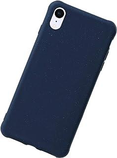 Urhause Funda Compatible con iPhone XR,Carcasa Case Ultraslim Protectora Silicona Líquida TPU Original Carcasa Ligera Suav...