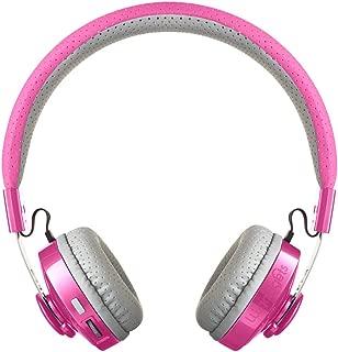 LilGadgets Untangled PRO Kids Premium Wireless Bluetooth Headphones with SharePort (Children) - Pink