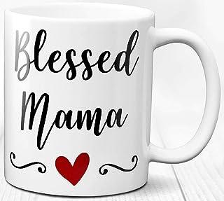 Taza de café Bendita Mamá Regalo para mamá Taza de cerámica de 330 ml Regalo especial para mamá