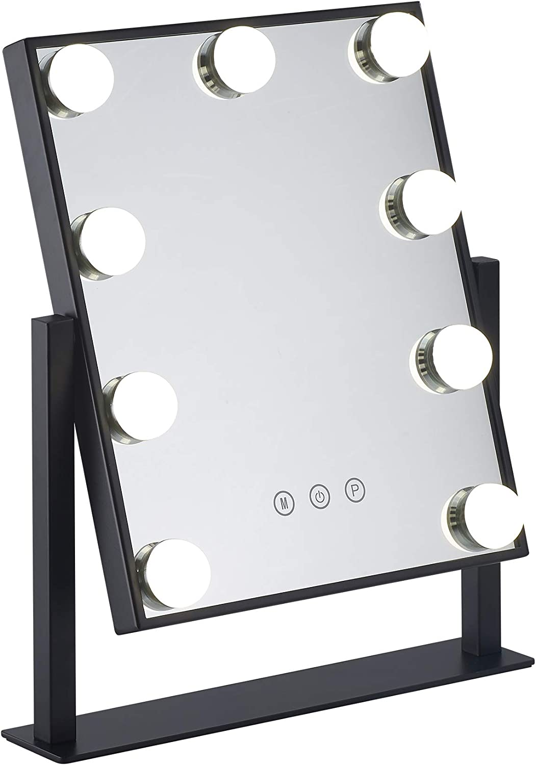 Makeup Mirror with LED Light 9 Nippon regular agency Hollywood price Vanity Lighted