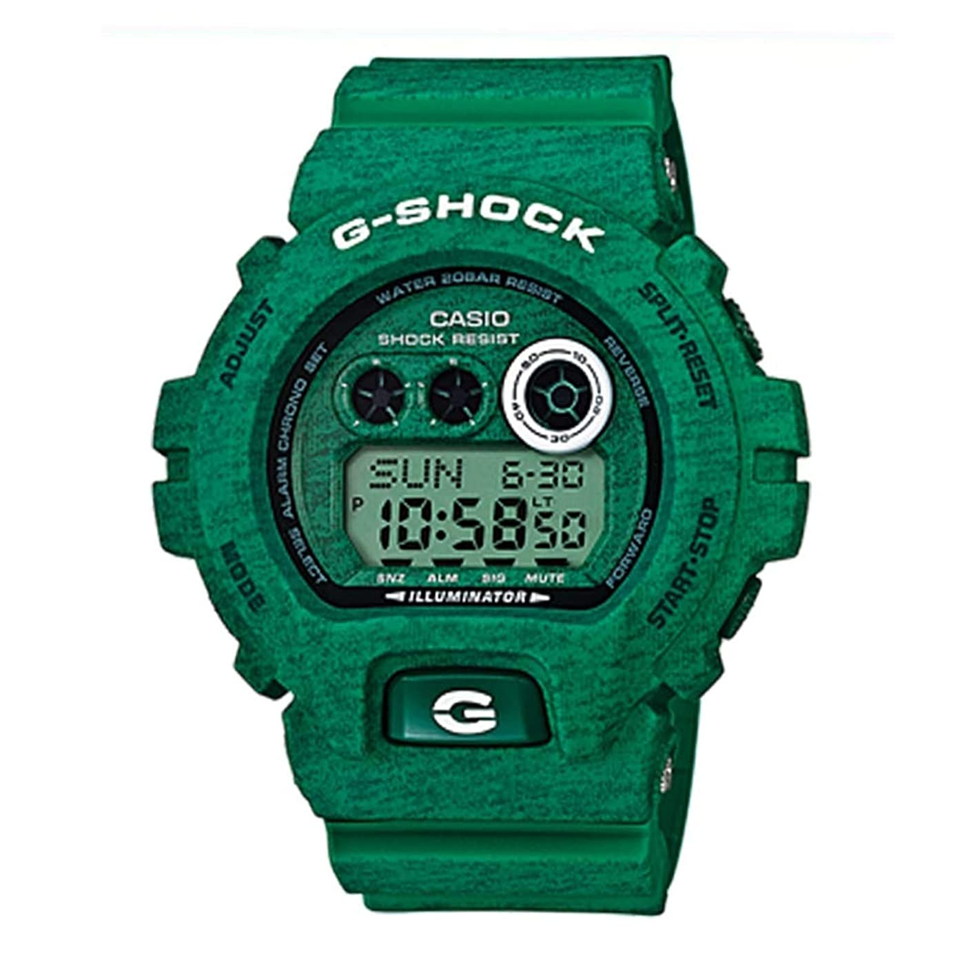 G-Shock Men's GDX6900HT Green One Size