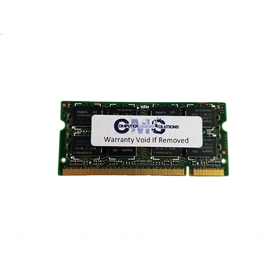 2Gb (1X2Gb) Sodimm Memory Ram Compatible with Acer Aspire One Kav10 Netbook Ddr2 5300 By CMS (A38)