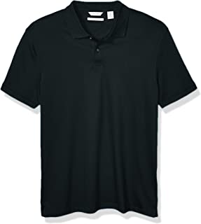 Calvin Klein Men`s Liquid Touch Polo Solid with Uv-Protection