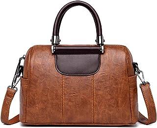 Summer Leather Handbags Wild Leather Shoulder Bag Diagonal Handbag,Yellow