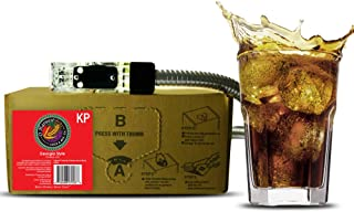 Bar Beverages Georgia Style Craft Cola (3 Gallon Bag-in-Box Syrup Concentrate) - Box Pours 18 Gallons of Cola - Use with Bar Gun, Soda Fountain or SodaStream