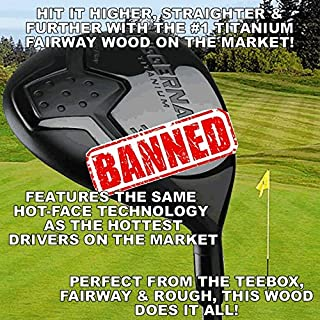 #1 World's Longest Illegal Huge Distance Custom Titanium Fairway Woods #3 or #5