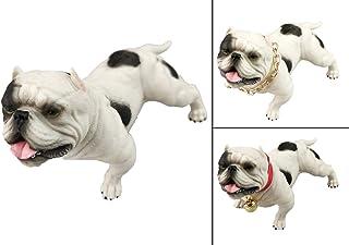 XPGG Amarican 悪徳犬 饰り 可愛いおもちゃ 犬の鎖 贈り物 ギフト (ホワイト)