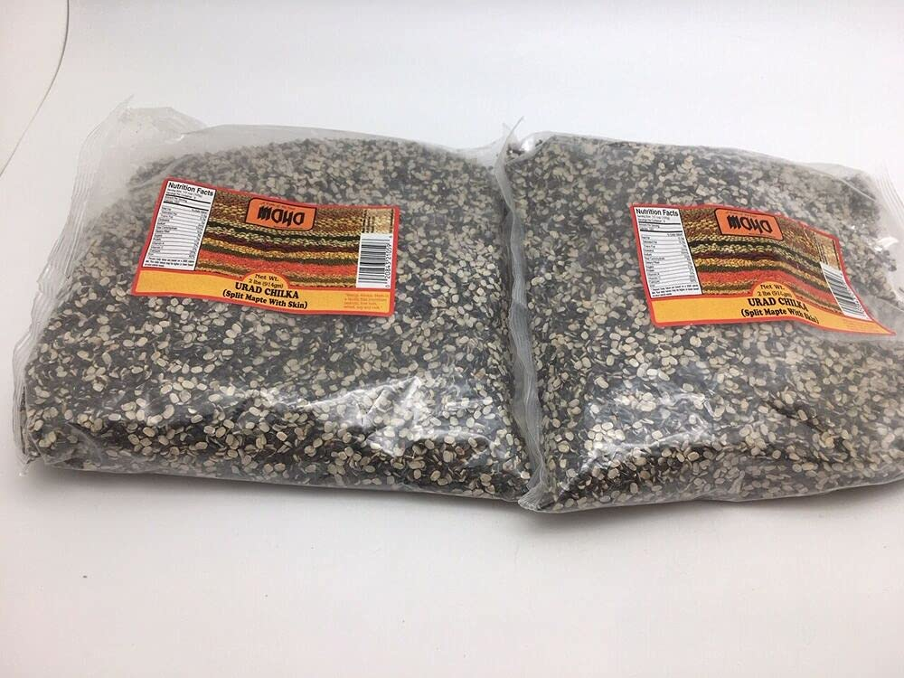 2 Lbs - Urad Chilka Split Mapte Lot Bags lbs With Tot cheap Skin 4 Detroit Mall
