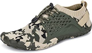 Yopaseeur Women's Minimalist Trail Running Barefoot Shoes Wide Toe Box GMY Workout Shoes