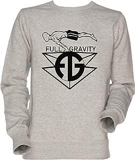 Vendax, Full Gravity - Street Workout Unisexo Hombre Mujer Sudadera Jersey Gris Men's Women's Jumper Sweatshirt Grey