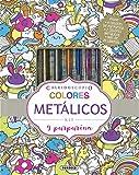 Colores metálicos y purpurina (Caleidoscopio)