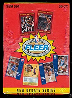 1991 92 fleer basketball set