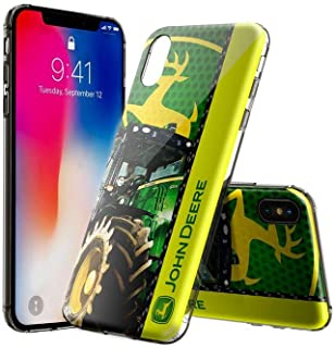 10955887be4 HSQKoR iPhone XS Funda, iPhone X Funda, Transparente Claro Suave TPU Gel Funda  para