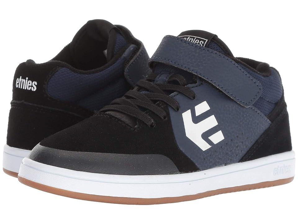 etnies Kids Marana MT (Toddler/Little Kid/Big Kid) (Black/Navy) Boys Shoes