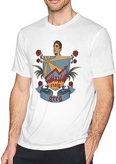 Men's Danny Gonzalez 3D Printed Short Sleeve Round T-Shirt White