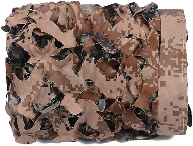 Bache 300D Heavy Duty Camouflage Desert Camping Camouflage Auvent Décoration Chasse Aveugle De Tir Et Jardin Ombre,5m6m