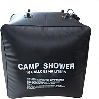 Deanyi 40liter/10gallon Ducha Solar Bolsa Exterior Camping Senderismo Camp Ducha portátil Peso Ligero