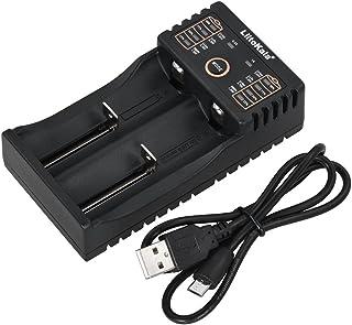 شاحن بطارية Lii-202 الذكي Liitokala لبطاريات 1.2 فولت/3.7 فولت/3.2 فولت/3.85 فولت AA/AAA 18490/18350/16340/14500/10440 NiM...