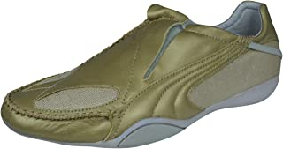 PUMA Ferali Metallic Womens Leather Trainers/Shoes