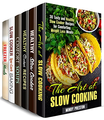 Crockpot Recipes Box Set (6 in 1) : Over 200 Best Slow Cooker Meals for Stress-Free Cooking (Slow Cooker Cookbook)