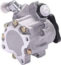 SCITOO Power Steering Pump Compatible For 2002-2005 Audi A4 Base/Cabriolet, 2002-2006 Audi A4 Quattro Cabriolet/Avant Base 21-134 Power Assist Pump