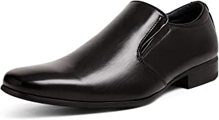 Bruno Marc Men's Leather Lined Dress Loafers Slip-On Shoes