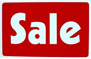 Chiam-Mart 1 Pcs Astonishing Unique Sale Price Sign Indoor Declare Business Real Estate Signs Store Retail Banner Outdoor Banners Kit Homes Land Decals Window Pricing Poster House Tags Size 7
