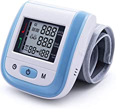 Blood Pressure Monitor Cuff Wrist Digital BP Monitor Clinically Accurate & Fast Reading with Large LCD Display - FDA Approved Essential for Home Care (Blue)