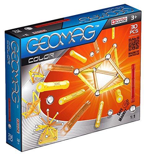 Geomag- Color 30 piezas, juego de construcción 251, Multicolor (601046)