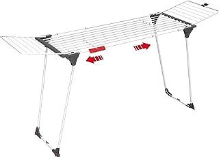 Vileda séchoir Infinity - séchoir table extensible XL - spécial draps / nappes / grandes pièces - jusqu'à 27m de capacité ...