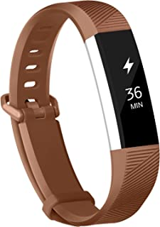 POY Compatible Bands for Fitbit Alta/Fitbit Alta HR, Adjustable Sport Wristbands for Women Men