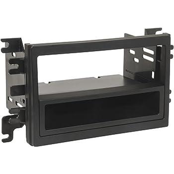 Metra 99-5813 Single DIN Installation Kit for 2007-2009 Lincoln Navigator//MKX Vehicles METRA Ltd Black