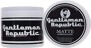 Gentlemen Republic Matte Grooming Paste Genuine Grooming for Men - 8 oz