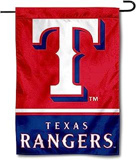 Wincraft Texas Rangers Double Sided Garden Flag