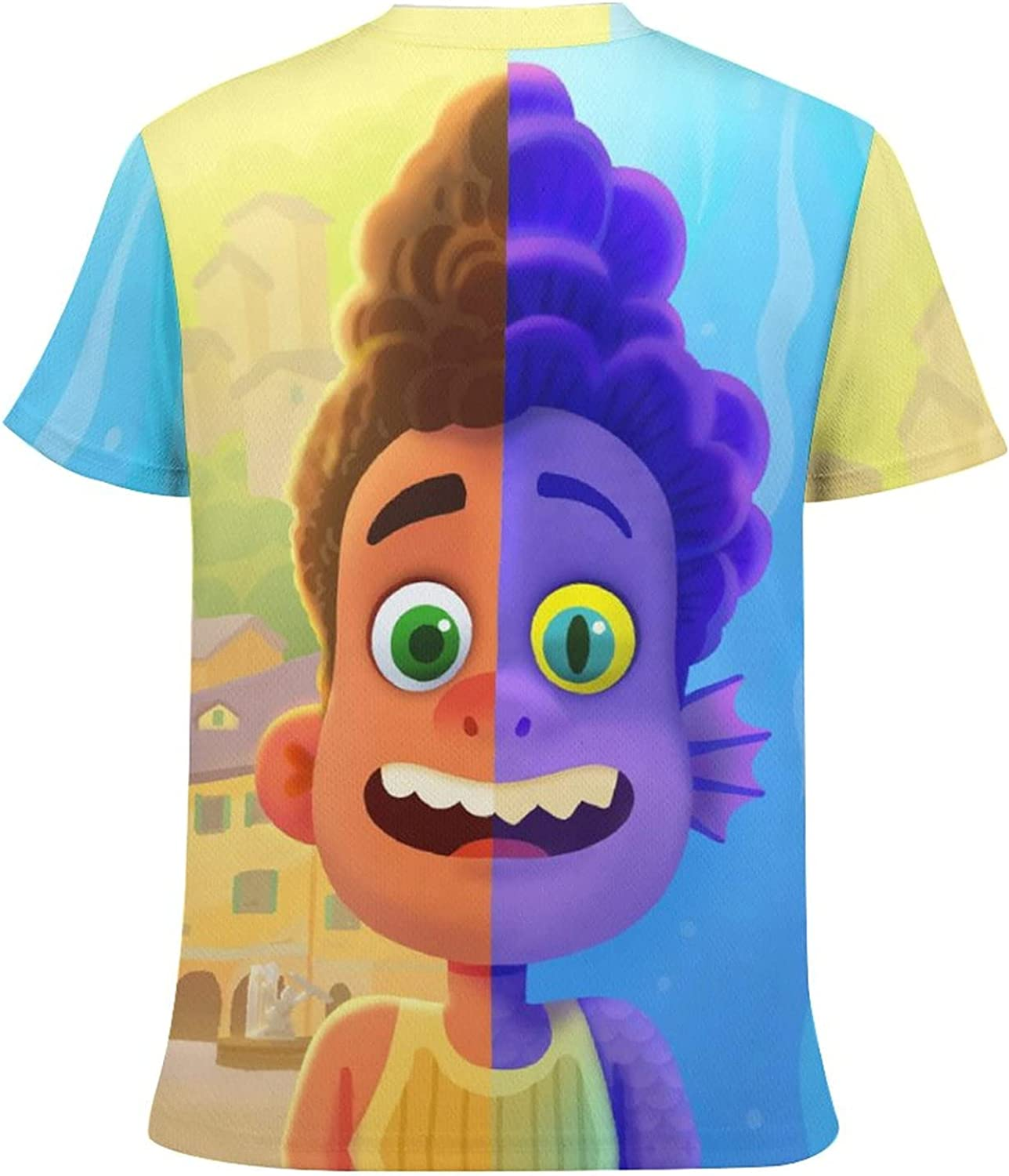 Kid's Novelty Graphic Round Neck Short Sleeve T-Shirt Cozy Trendy Tee Shirts Tops for Boys L